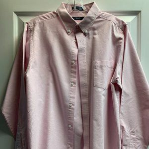 Long Sleeve, Pink dress shirt